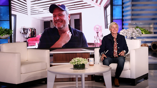 Blake Shelton Hilariously Talks About Gwen Stefani Dyeing His Hair & Realizing He Was 'Completely' Gray