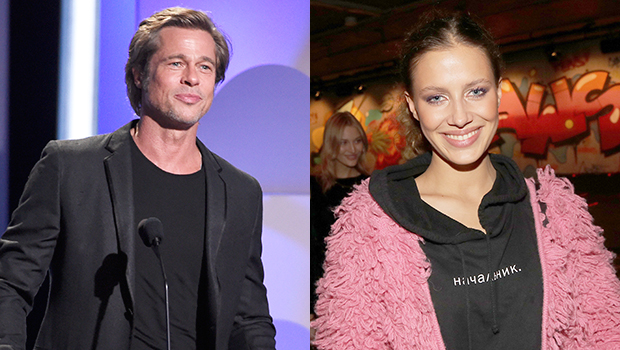 Brad Pitt's Rumored GF Nicole Poturalski Claps Back When Fan Asks Why She 'Hates' Angelina Jolie