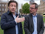 Chef Jamie Oliver joins Mail on Sunday's war on toxic US food