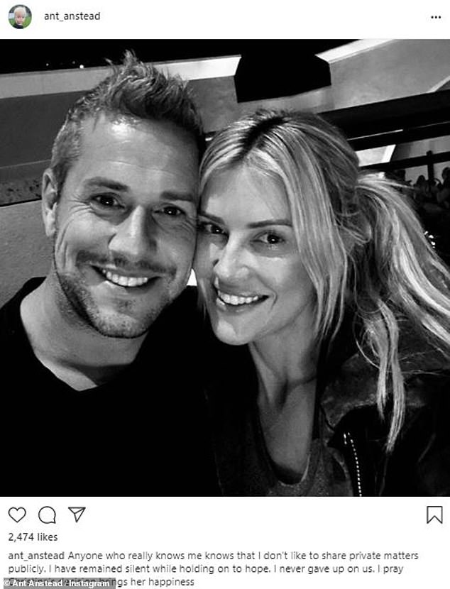 Christina Anstead updates her fans on life after separating from her husband Ant Anstead