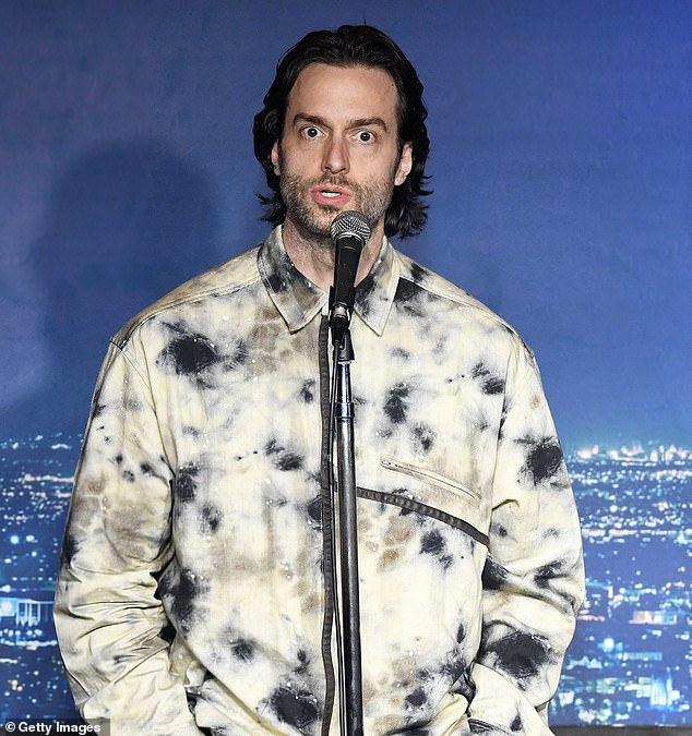 Actress Megan Drust has claimed comedian Chris D