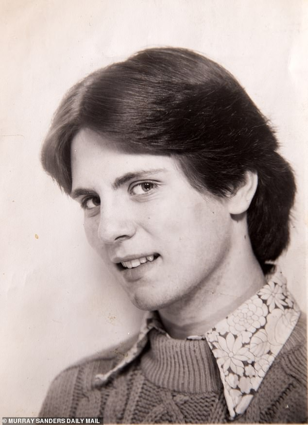 Carl Stotter, pictured aged 18, was one of serial killer Dennis Nilsen¿s very few survivors, whose evidence helped to convict him however, alcoholism eventually killed him 30 years after his attempted murder