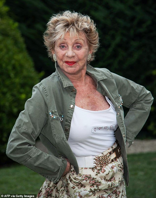 RIP:Belgian actress Annie Cordy has died at the age of 92 after suffering a cardiac arrest at her home inVallauris, France