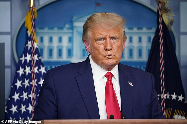 President Donald Trump confirmed that another White House staffer has tested positive for the coronavirus