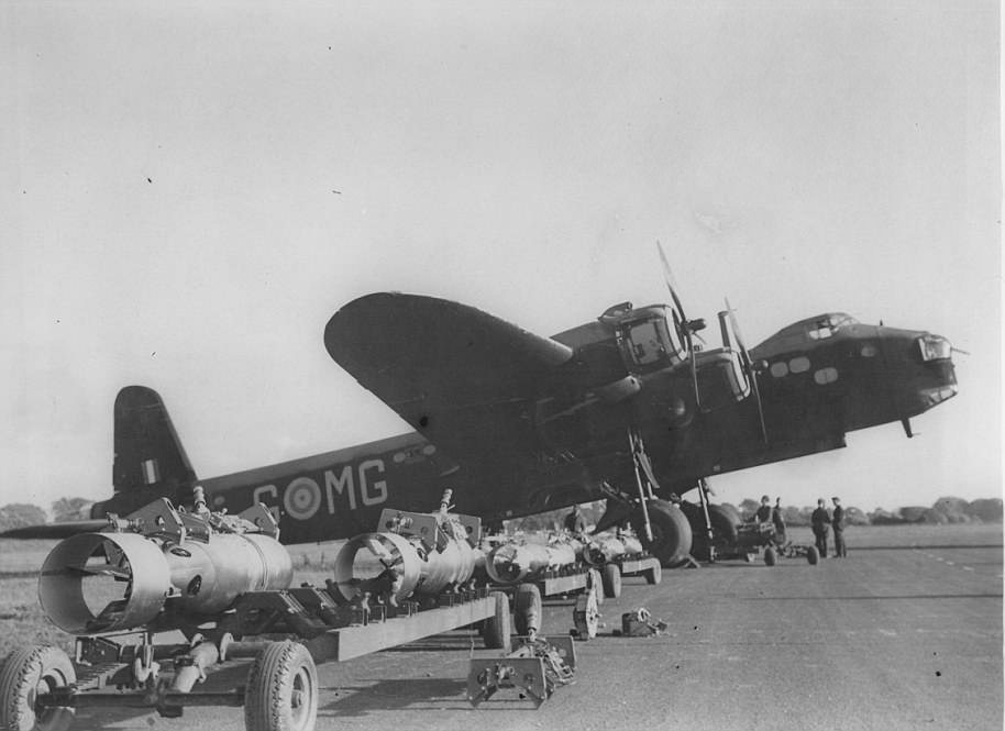 The RAF Bomber Command controlled the RAF
