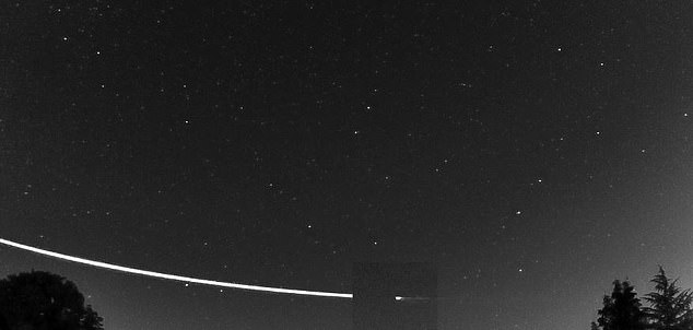 Earth-skimming meteoroid dipped 56 miles into the atmosphere before returning to space