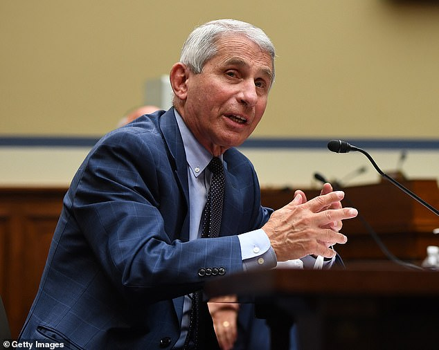 Emails obtained by Politico show that HHS official Dr Paul Alexander has been trying to instruct Dr Anthony Fauci