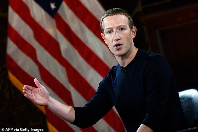 Facebook CEO Mark Zuckerberg is seen in a file photo. A former Facebook employee
