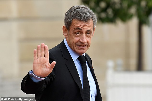 Former French president Nicolas Sarkozy who is at the centre of a racism row