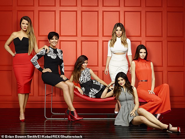 Fly on the wall: Keeping Up With The Kardashians was a ratings winner right out of the gate when it premiered in October 2007 on cable network E!