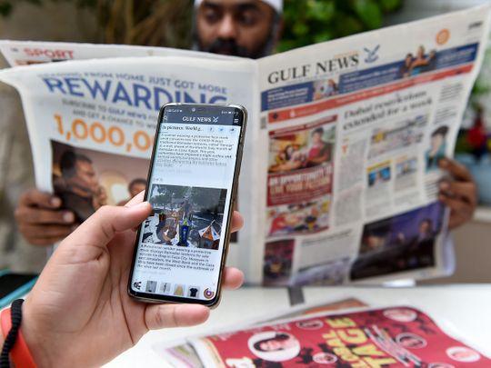 Gulf News at 42: Landscape to mindscape, an enduring bond
