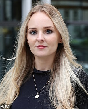 Lissie Harper, 29,was married to PC Harper for just four weeks when he died and revealed she keeps his ashes in a box in her bedroom