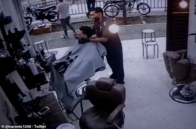 Carlos Andrés Carmona was assassinated at a barbershop in Medellín, Colombia, on Saturday