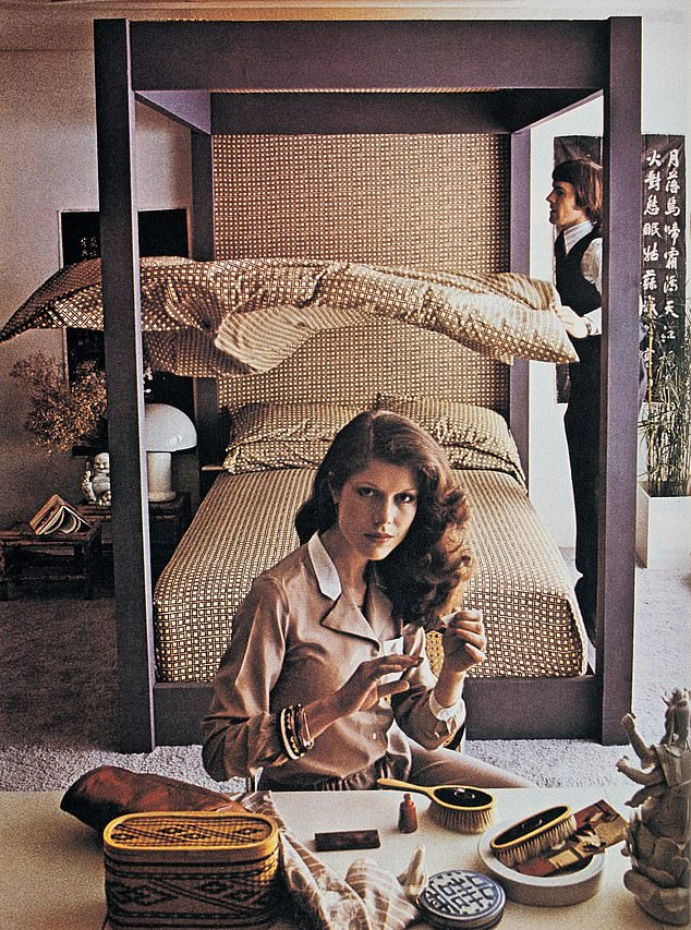 Ahead of its time: A 1970s Habitat advert. Sir Terence