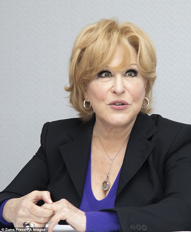 I tweeted that she and Prince Harry should have their Duke and Duchess of Sussex titles removed by the Queen – then they can be as politically partisan as they want without damaging the impartial integrity of the monarchy. 'Oh f*** off,' spat back Bette Midler, singing legend turned foul-mouthed social media troll