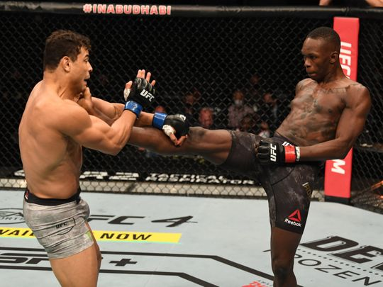 In Pictures: Israel Adesanya destroys Paulo Costa to retain middleweight title in Abu Dhabi