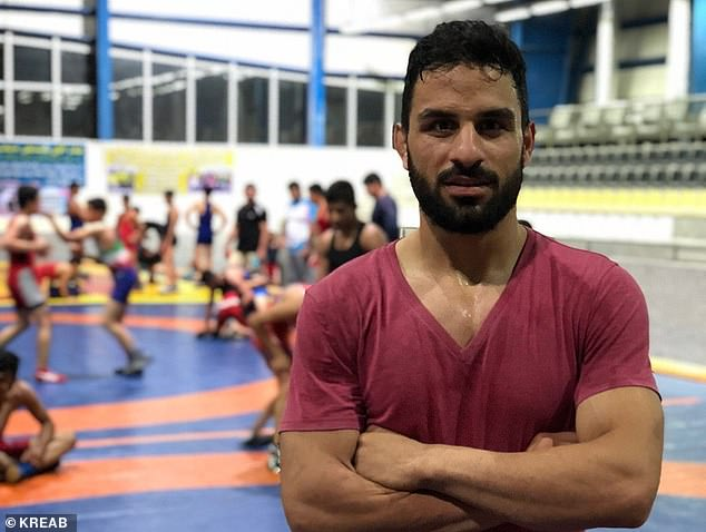 Iranian state TV has aired an apparent confession by wrestler Navid Afkari (pictured), who today was executed after having been charged with a 2018 murder