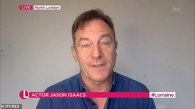 Jason Isaacs claims people who don't wear face masks should be 'hanging in the streets!'