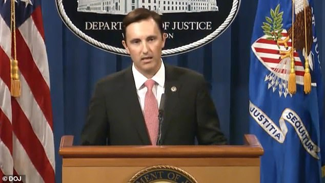 Acting Assistant Attorney General Brian Rabbitt (above) said on Thursday that coordinated criminal rings have worked to defraud the PPP program