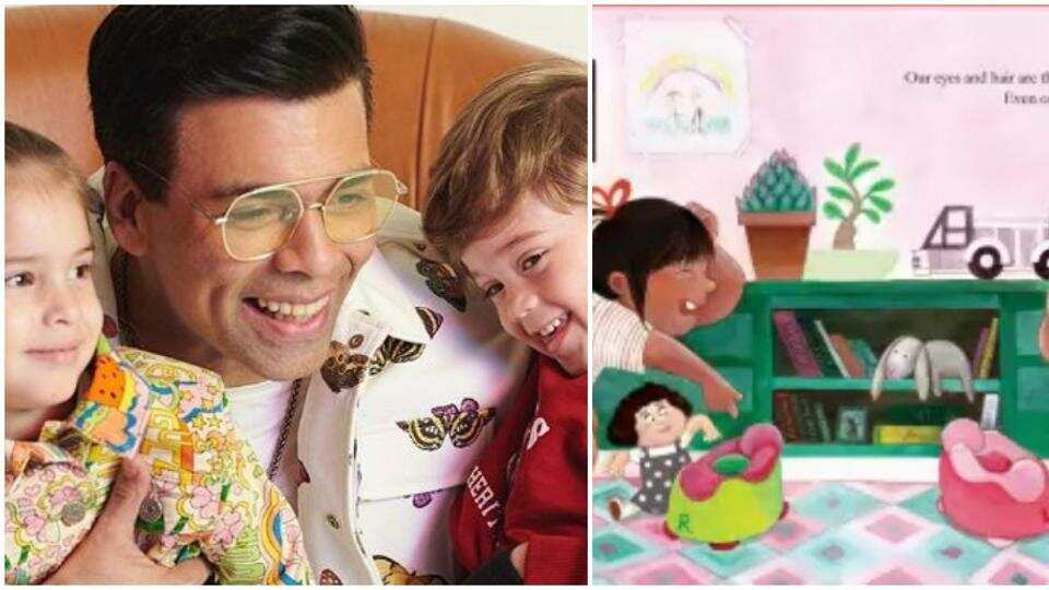 Karan Johar has penned a picture book for kids.