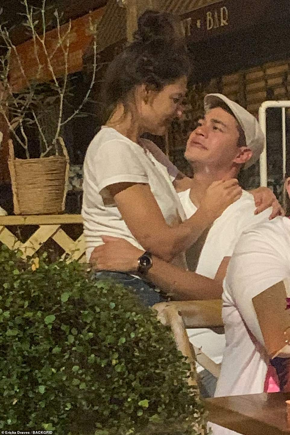 Confirmed:Katie Holmes has confirmed her romance with restaurateur Emilio Vitolo Jr on Sunday night