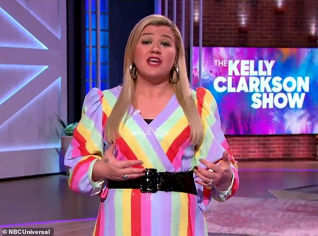 Oops:Kelly Clarkson has a day time talk show that is family friendly. But during a blooper reel shared this week, the 38-year-old country music singer can be heard dropping two F-bombs as she fails to deliver her lines during an instructional