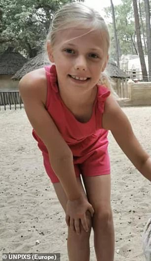 Maisy Mayne died from severe head trauma in the freak accident and her sister Isla also had to be airlifted to hospital