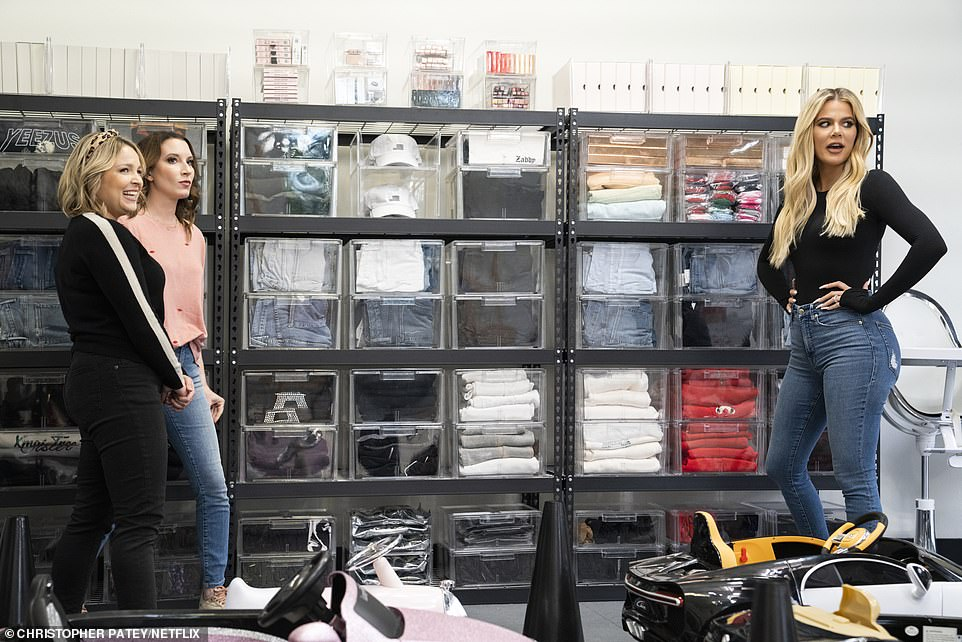 Check it out! Khloe Karadashian gave fans an up-close look inside her garage in the premiere season of Netflix