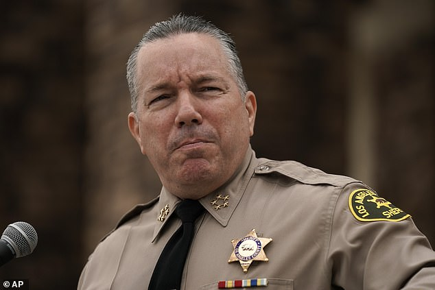 Alex Villanueva, sheriff of LA County, on Monday challenged LeBron James to match the funds
