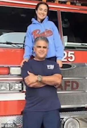 Police fear missing Los Angeles firefighter Francisco Aguilar, 48, (pictured) was the victim of a violent kidnapping during a trip to Mexico