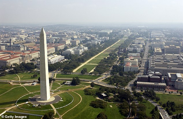 The Washington Monument was identified as problematic by a committee in the US capital