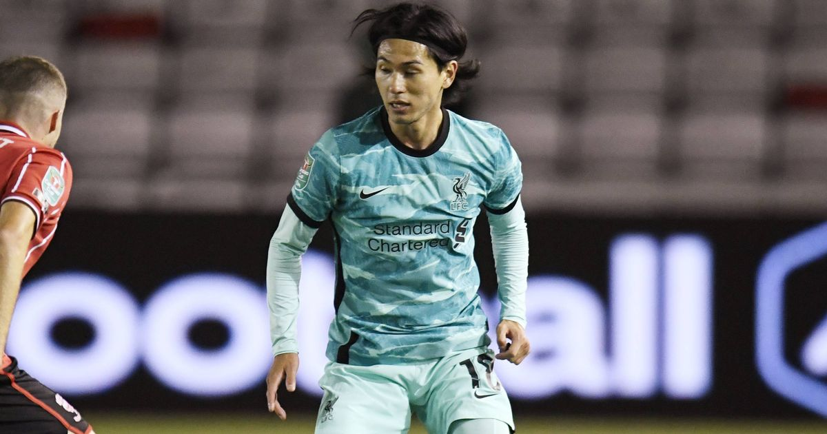 Liverpool's Takumi Minamino compared to Chelsea new boy after Carabao Cup brace