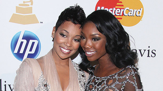 Monica Jokes About 'Kicking In' Brandy's Door After Squashing Feud With A Hug During Verzuz Battle