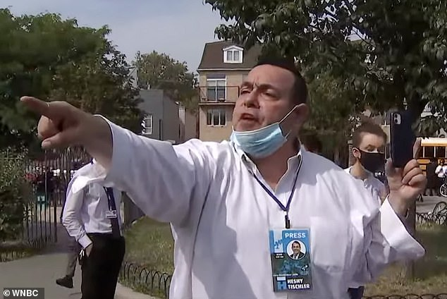 Orthdox Jewish anti-masker calls NYC health officials Nazis and liars at public meeting
