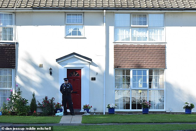 Sussex Police said the circumstances of the death at a home in Eastbourne, East Sussex, are being treated as suspicious