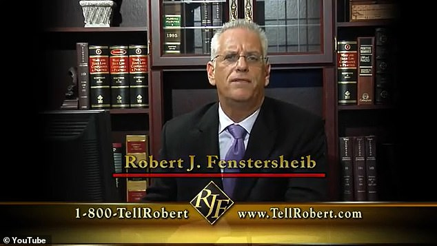 Robert Fenstersheib was killed after his oldest son shot him dead outside his Florida home