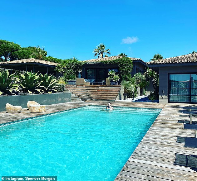 Intrusion: Piers Morgan has revealed thieves stole more than £10,000 in cash from him and his wife Celia as they slept at their luxurious holiday home in Côte d