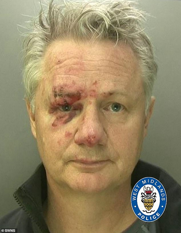 David McSkimming, 53, was handed a suspended six-month prison sentence at Birmingham Crown Court yesterday for killing a cyclist