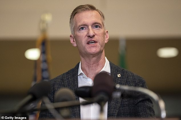 Ted Wheeler, the Democrat mayor of Portland, has told neighbors he will move out of his $840,000 condo in an upmarket area of the city after it became a target for protesters