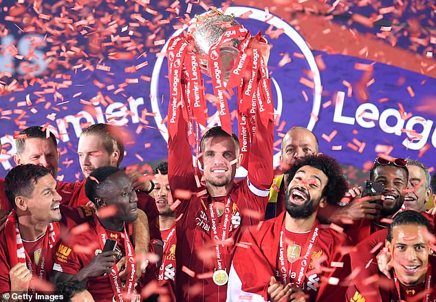 Liverpool won the Premier League title in 2019-20 following a season that was disrupted by three months thanks to the coronavirus pandemic