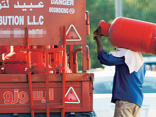 Price of LPG in UAE cut by 24% beginning October 1