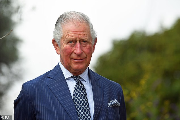 Prince Charles, pictured above in January this year, has been accused of taking draconian measures to preserve the appearance of his new estate in Cornwall