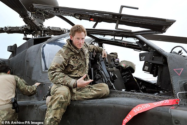 Prince Harry has reportedly joined a helicopter club in California in order to take Meghan Markle and his son Archie out on family trips. The Duke of Sussex, 36, needs to practice flying in order to to keep his helicopter licence current. He is pictured in the army on a helicopter in 2012