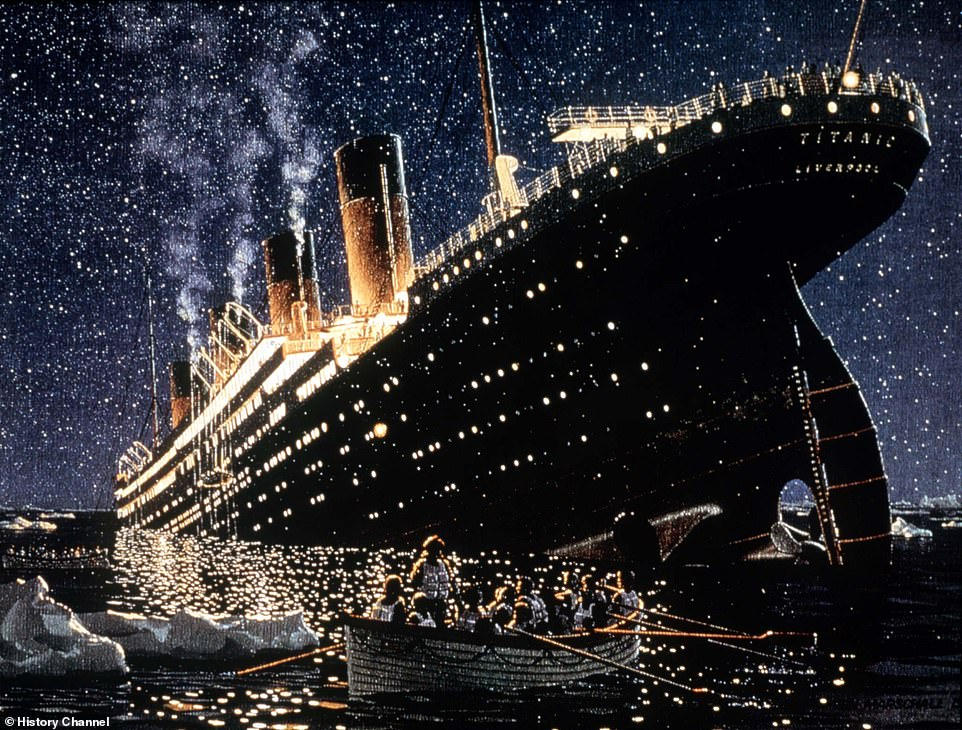 The RMS Titanic may have only taken the exact fateful course that saw it holed and sunk by an iceberg on April 15, 1912 because a solar flare threw off the vessel