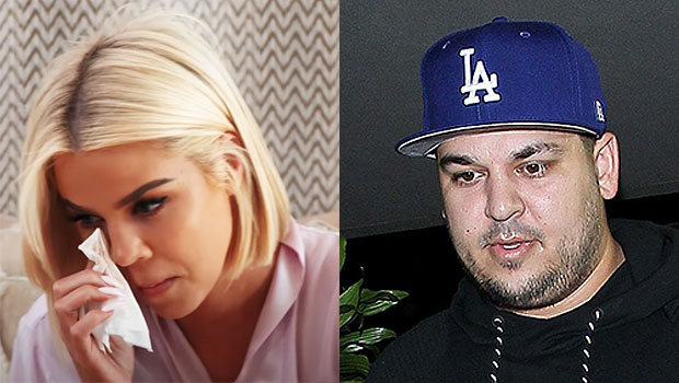 Rob Kardashian: Why It 'Breaks His Heart' To See Khloe 'Very Emotional' & Crying Over 'KUWTK' Ending