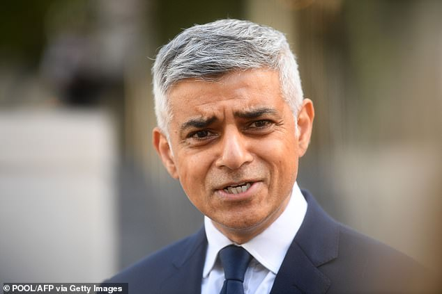 Sadiq Khan wants Londoners banned from visiting friends and family
