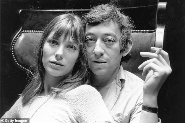 Serge Gainsbourg, pictured with English actress Jane Birkin, was similar to Harvey Weinstein in the way he behaved towards women, one of the France