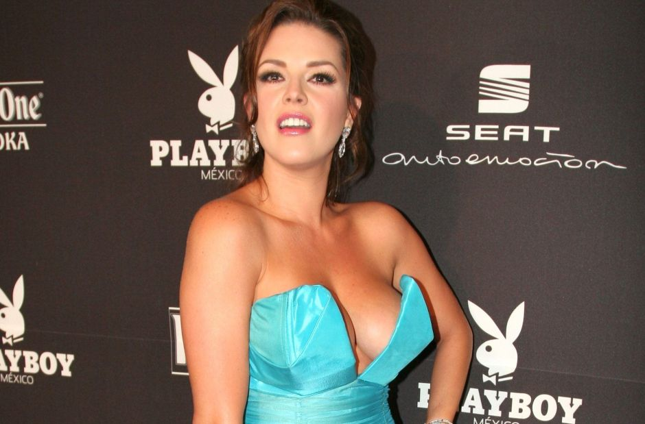 Showing off her curves, Alicia Machado goes out to tan wearing a printed minibikini | The NY Journal