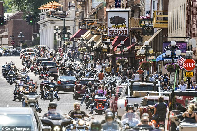 Nearly 20 percent of all the new 1.4 million cases of coronavirus reported between August 2 and September 2 can be traced back to the Sturgis Motorcycle Rally held in South Dakota last month