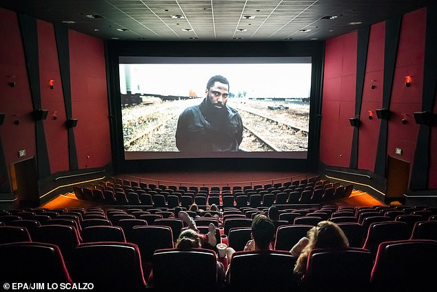 Only in theaters! Christopher Nolan